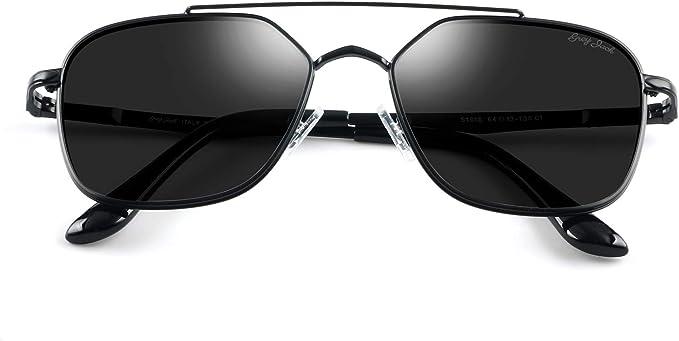 Amazon.com: Grey Jack - Gafas de sol polarizadas cuadradas ...