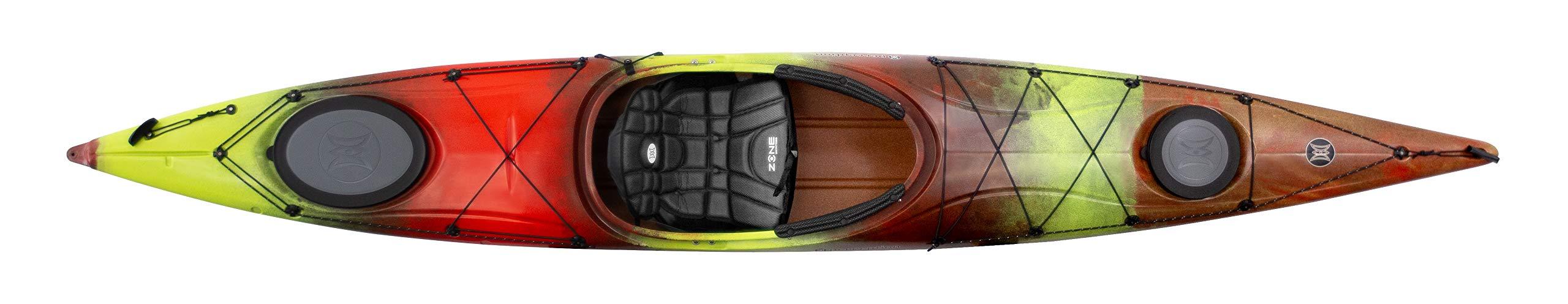 Perception Carolina 14 | Sit Inside Kayak for Adults | Touring Kayak | 14' | Salsa by Perception Kayaks