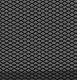 Autostyle TG 1253Z rejilla de aluminio, diseño de diamantes, color negro, 16 x 8 mm