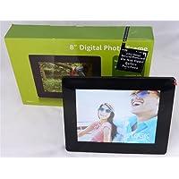 "LOGIK L08DPF13 LED Backlight 8"" Digital Photo Frame SD / MMC / MS /SDHC- USB SLOTS(SOLD BY ,UK-DEALZ)"