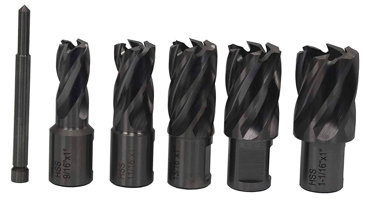 DWC Series Drill America 1//2 X 1 High Speed Steel Annular Cutter