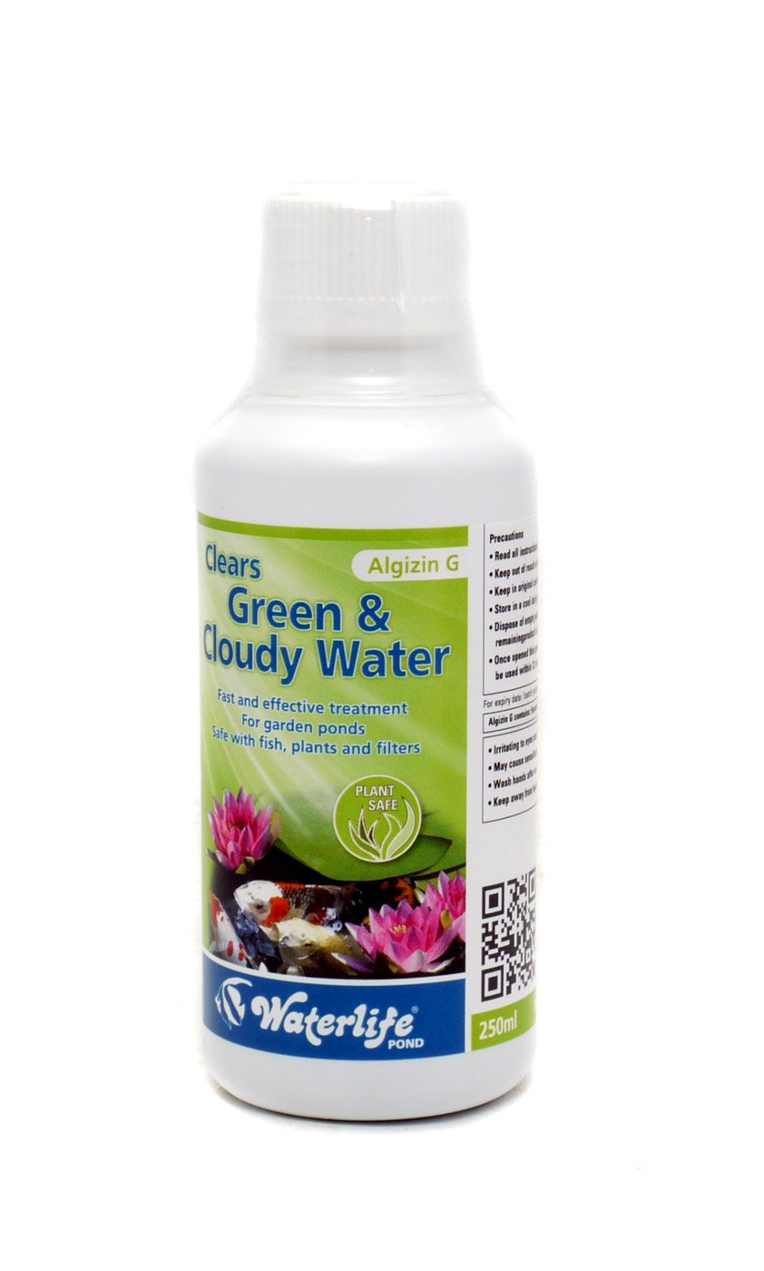 Waterlife Algizin G Green Water Pond Treatment (size: 250ml)