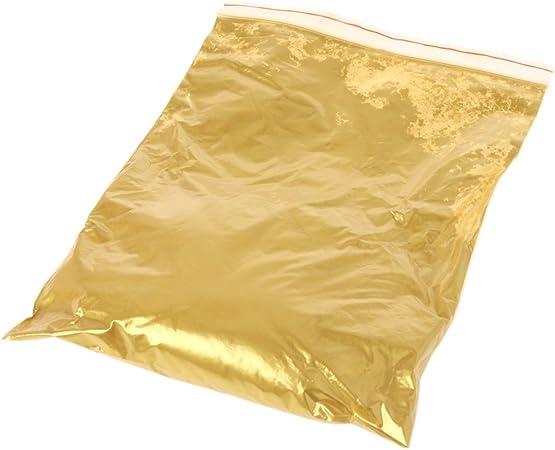 LDA Ottieni Oro Fresco Pigmento Perlato Vernice acrilica Vernice colorante Verniciatura Artigianato dArte Colore Oro Perlato Pigmento Oro