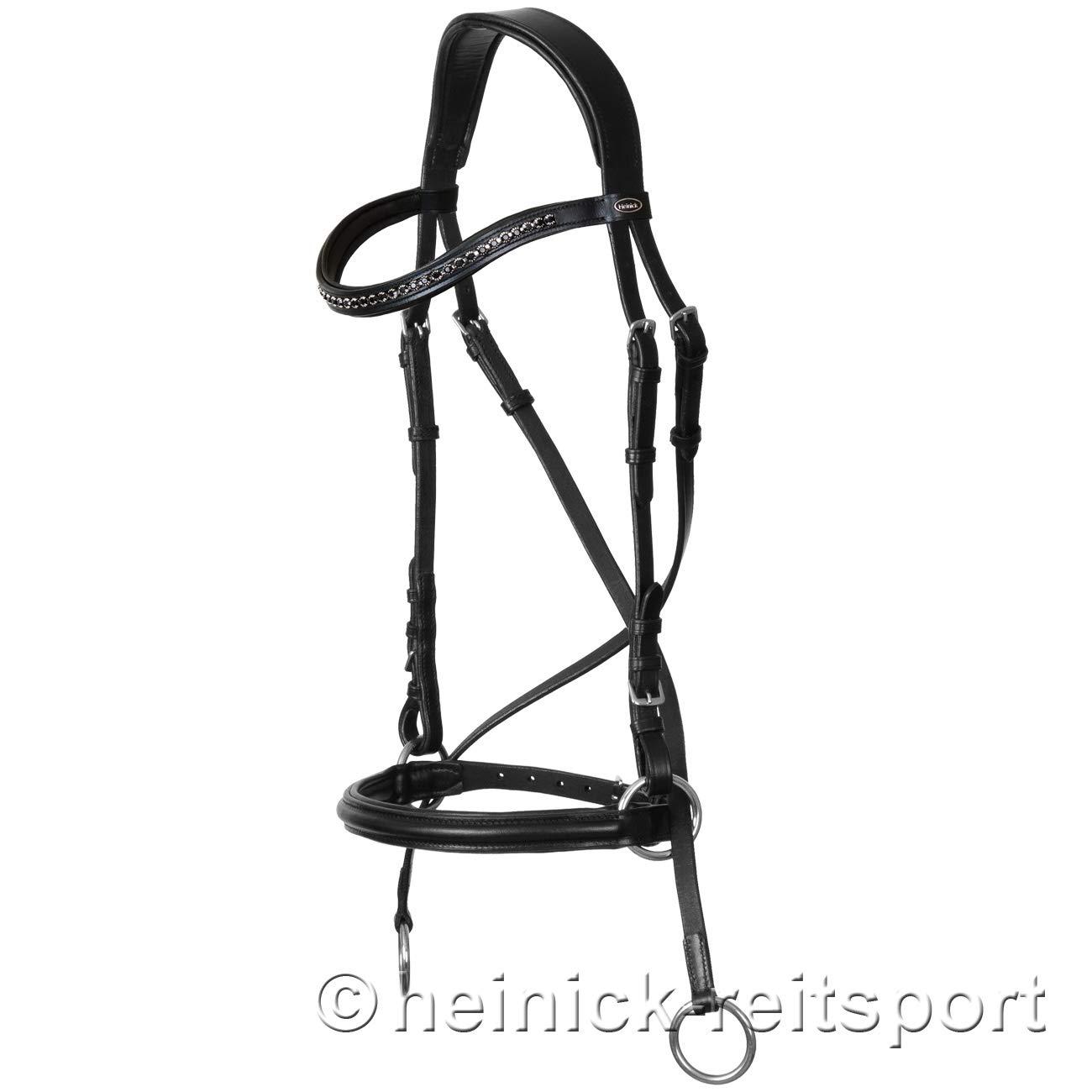 heinick de l/équitation Comfort Bridon ~ Agate ~ gebisslose z/äumung sans R/ênes Bridon demi-sang pur-sang