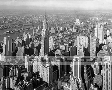 1932 Empire State Building New York City [8 x 10 Photograph] - Empire State Building Photographs