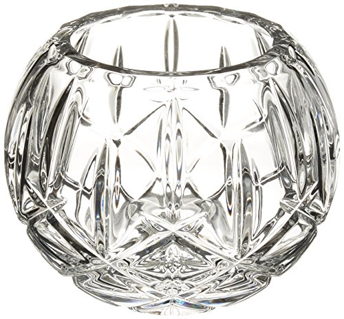 Lenox Gorham Lady Anne Crystal Rose Bowl, 7
