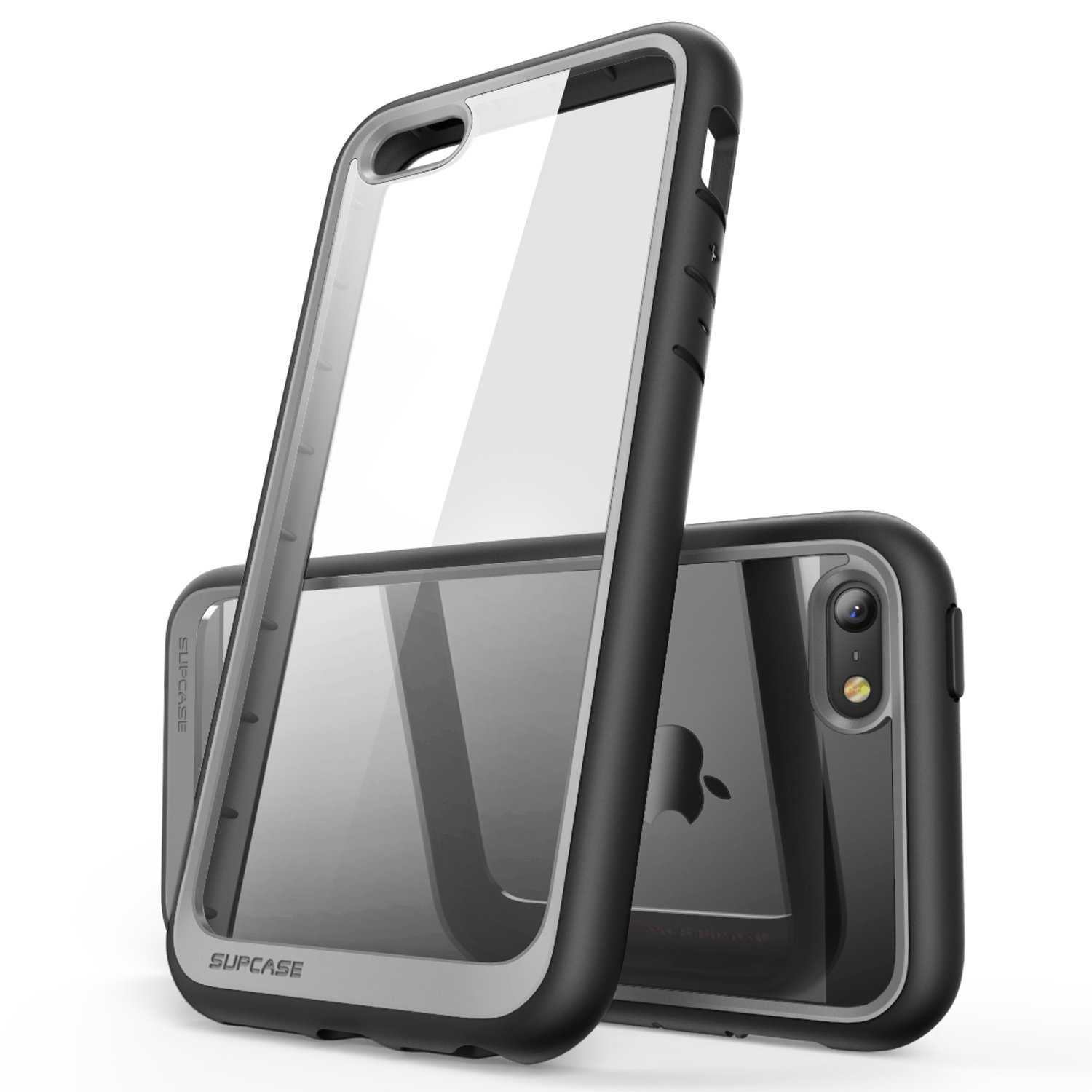 SUPCASE iPhone SE Case Black//Black Unicorn Beetle PRO Series Full-Body Rugged Holster Case with Built-in Screen Protector for Apple iPhone SE 2016 Release//Compatible with iPhone 5S//5