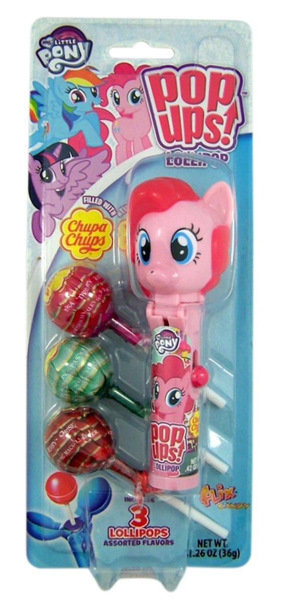My Little Pony Rainbow Dash Pop Ups Lollipop Case with Chupa Chups Lollipops