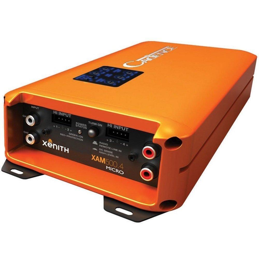 Cadence XAM500.4 1000W 4-Channel Xenith XAM Series Class D Full Range Amplifier [並行輸入品] B076CT4KZ3