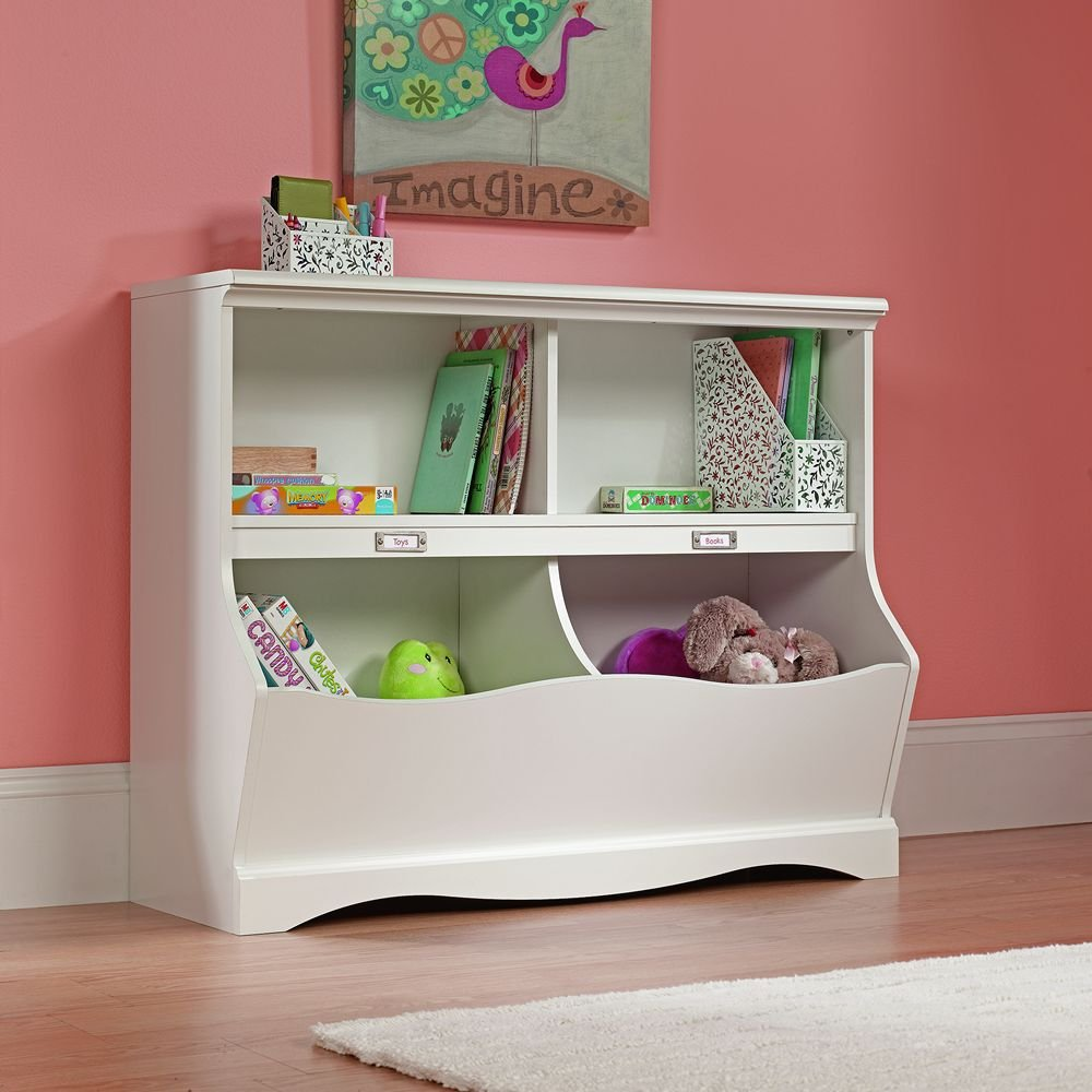 Charming Amazon.com: Sauder Pogo Bookcase/Footboard, Soft White Finish: Kitchen U0026  Dining