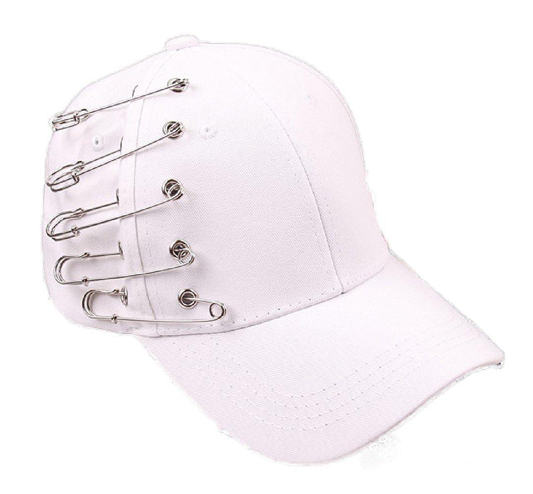 Amazon.com  YABINA Unisex Silver Ring Piercing Rock Cotton Baseball Hat  Truckers (Black) (9359003833667)  Books 5a7941fa1445