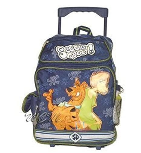 Scooby Doo and Shaggy Rolling Backpack Large [Toy]