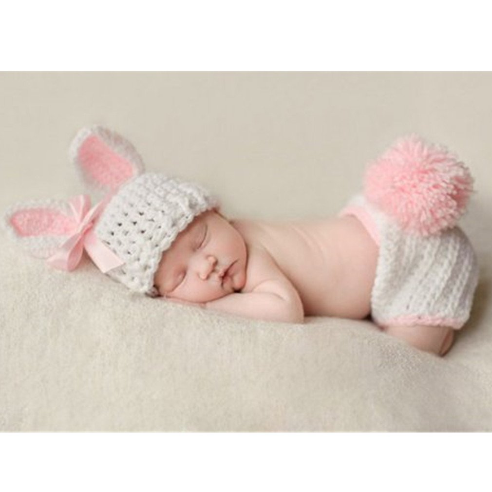 75ed2a2f5ea Fashion Baby Costume Photo Photography Props Toddler Knit Crochet Animal Hat  Cap  Amazon.co.uk  Baby