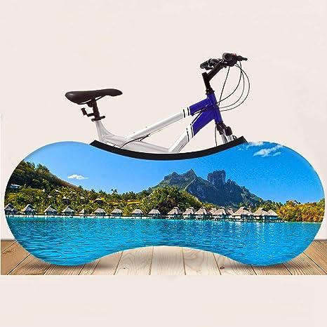 JTYX BIKE COVERS Funda para Bicicleta Universal Interior Bolsa ...