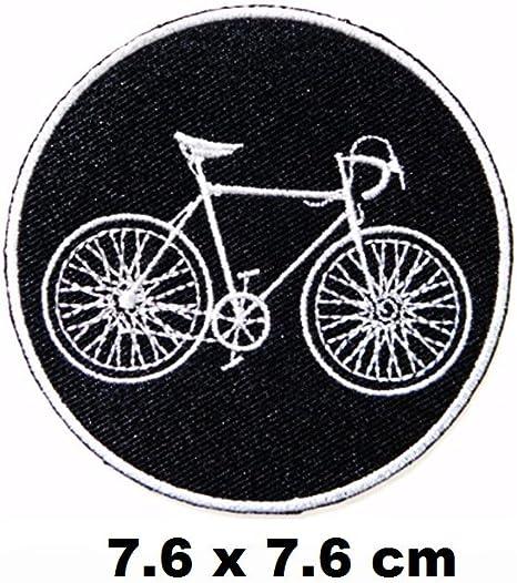 Bicicleta BMX Montaña parche hierro en logotipo chaleco gorro de ...