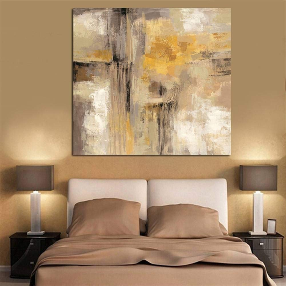 YSAZA Inkjet painting single abstract paintinghome poster bedside background five consecutive decorative painting decorative painting