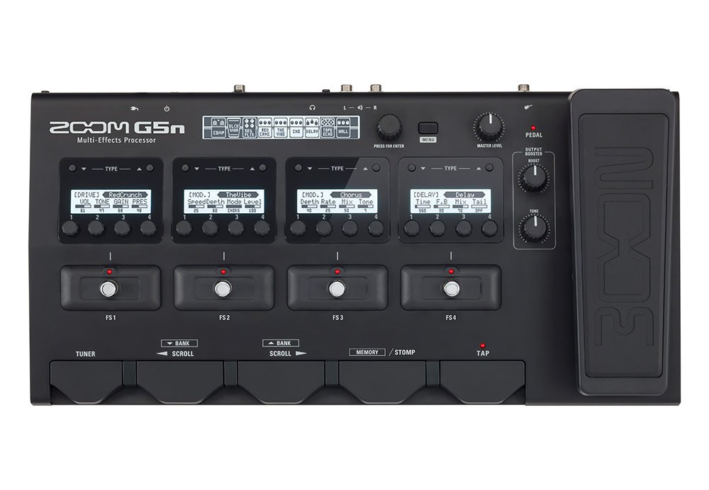 Zoom G5n Multi-Effects Processor for Guitarists