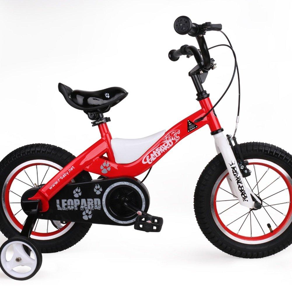 XQ TR-433青い子供の自転車キッズ自転車3-8歳の少年少女の乗馬の安全安定した14インチ、103 * 17.5 * 55センチメートル 子ども用自転車 ( 色 : Red-16inch ) B07C5QXJ8S Red-16inch Red-16inch