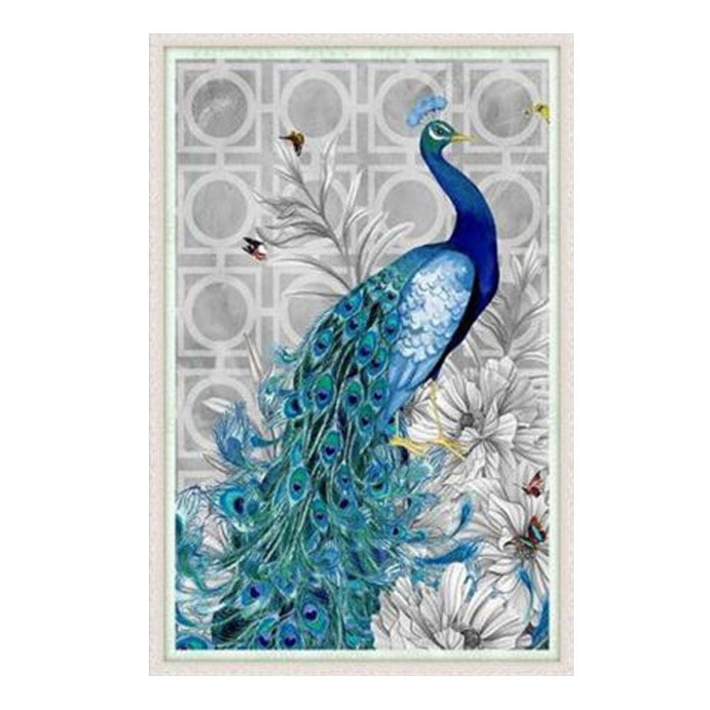 Tomtopp 5d Diamond Painting Kit Craft Full Peacock Diy Cross Stitch Home Decor Right 32 47cm Amazon In Home Kitchen