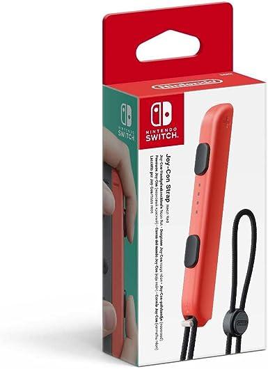 Nintendo - Correa Joy-Con, Color Rojo (Nintendo Switch): Amazon.es: Videojuegos