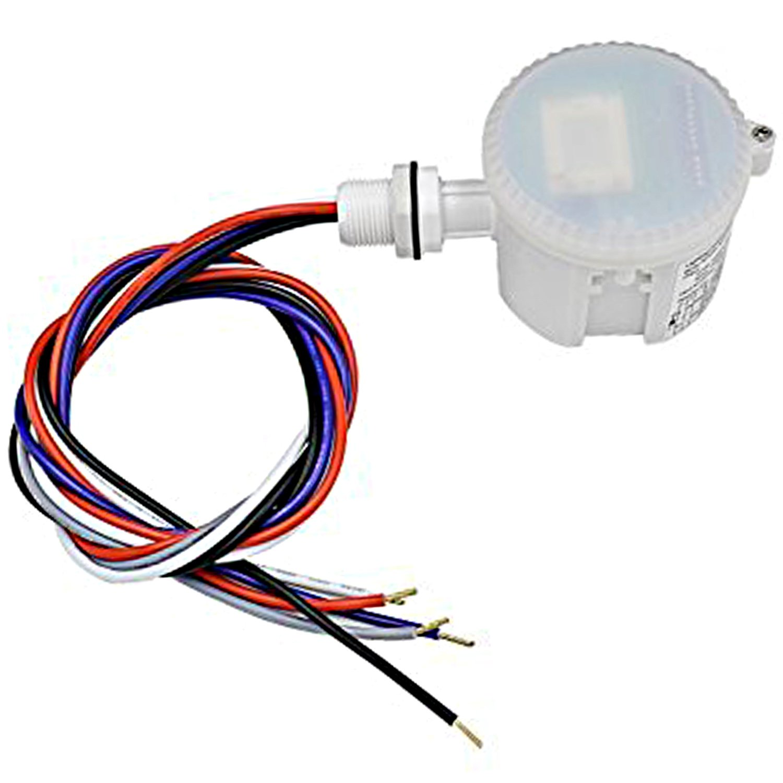 Hykolity 360 Degree Microwave Motion Sensor IP65 Rating Waterproof Motion Sensor Light Switch for Linear High Bay Light Fixture