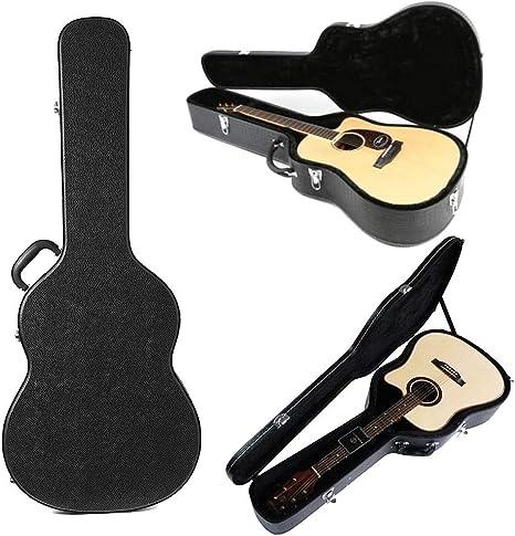 ERCZYO Funda rígida para guitarra acústica Artist Dreadnought ...