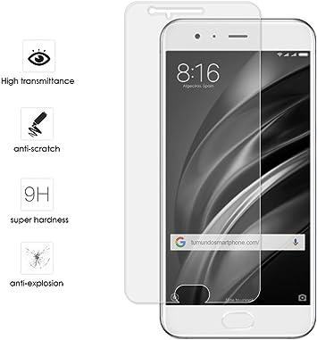 Tumundosmartphone Protector Cristal Templado para XIAOMI MI6 ...