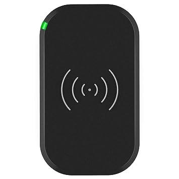 CHOETECH QI Wireless Charger Fast QI - Cargador Inalámbrico Rápido para Samsung, iphone, Lumia, Nexus, etc
