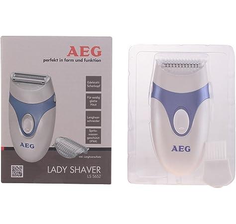 Aeg Afeitadora Femenina Ls 5652#Azul: AEG: Amazon.es