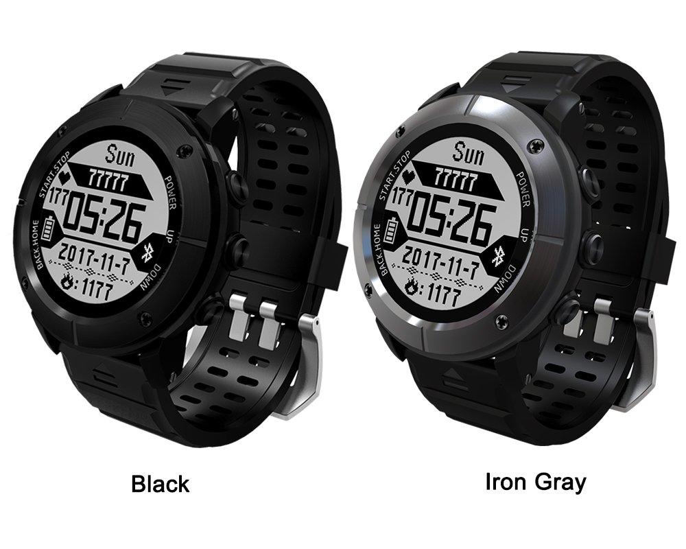 Makibes G06, Reloj inteligente Multisport, Reloj GPS. Reloj de pulsera, Monitor de frecuencia cardíaca, IP68 impermeable, rastreador de actividad para ...