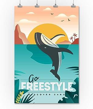 Cabo, México – Gris ballena – Go Freestyle – Vector: Amazon.es: Juguetes y juegos