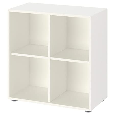 Ikea EKET Libreria, Mobile con Piedini, Bianco, 70x35x72 cm ...