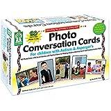 CARSON DELLOSA PHOTO CONVERSATION CARDS FOR (Set of 3)