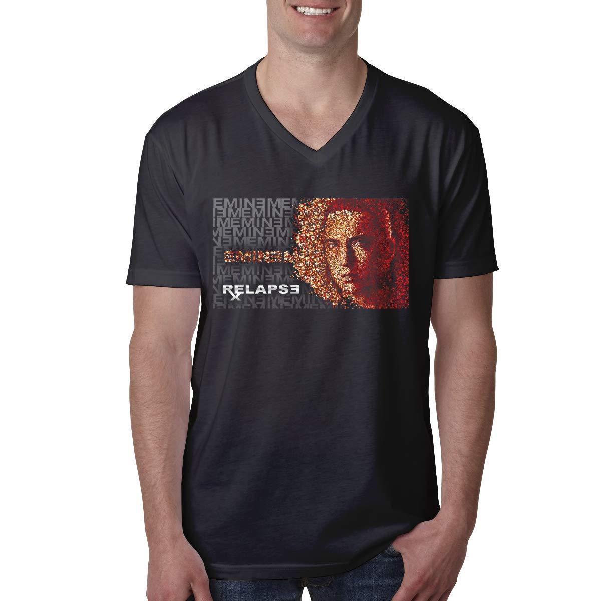 S Eminem Comfortable Vneck Short Sleeve T Shirts