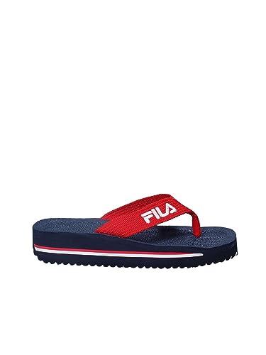 9b067274ce54 Fila 1010290 Flip Flops Man Blue 42  Amazon.co.uk  Shoes   Bags