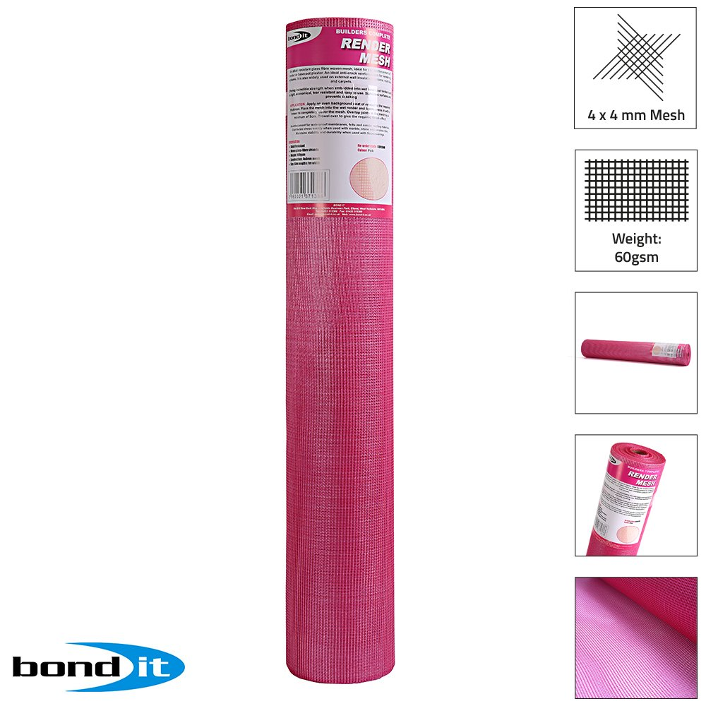 Bond-It BDRENM Alkaline Resistant Rendering Fiber-Glass MESH