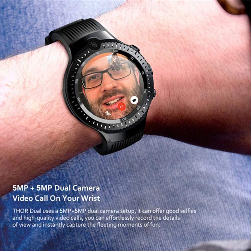 Zeblaze THOR 4 Dual Watch 4G Memoria 530 mAh Batería Cámara doble ...