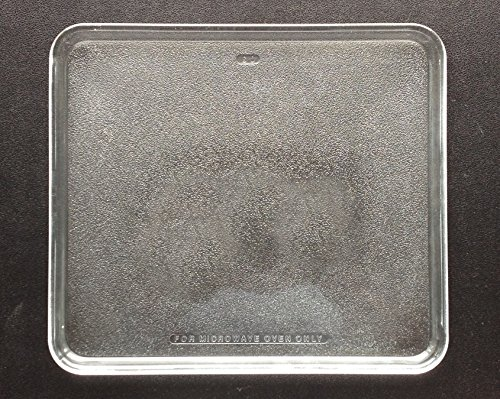 Pre Owned Microwave Oven Square Glass Plate / Tray 10 3/4