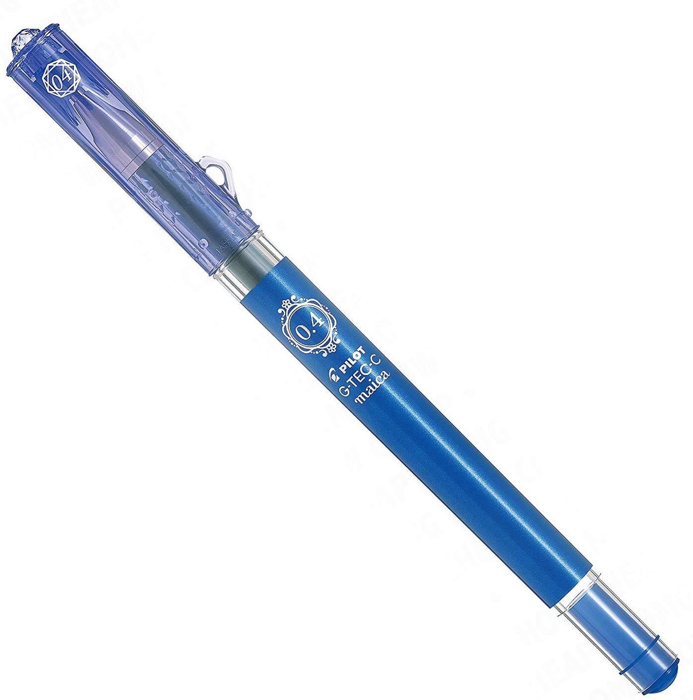 G-Tec-C Maica - Ultra Fine 0.4mm Gel Pen - Single - Blue