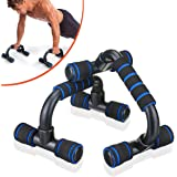 SGODDE Push Up Bars Pushup Handle with Cushioned Foam Grip and Non-Slip Sturdy Structure Portable Push Up Handles for Floor Home Workout Stands for Men Women Strength Training