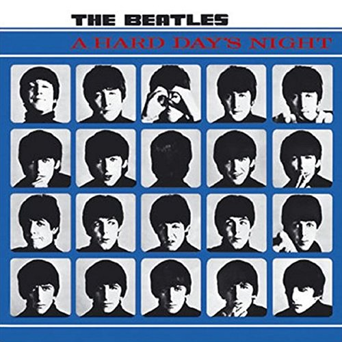 The Beatles Greeting / Birthday / Any Occasion Card: A Hard Day's Night Album