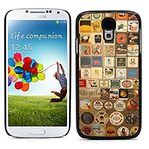 Graphic4You Stamps Badge Design Hard Case Cover for Samsung Galaxy S4 S IV