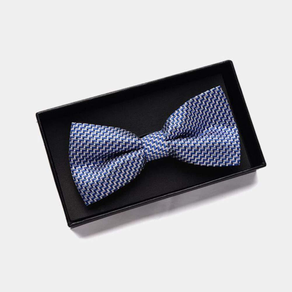 FH Bow Tie Male Wedding Dress Groom Groomsman Wedding Man Color : K
