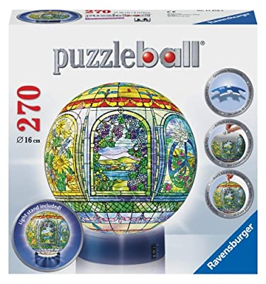 Stained Glass 270 Piece Puzzleball from Ravensburger