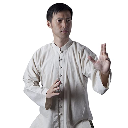 7623ff9b0 Amazon.com : BlueSkyDeer Unisex's Meditation Clothing Tai Chi Clothes Kung  Fu Outfit Can Be Customized Army Green Navy Blue and Black : Sports &  Outdoors