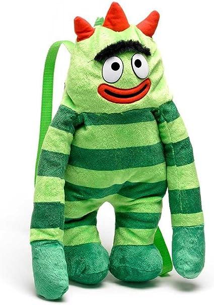 Amazon Com Yo Gabba Gabba Brobee Plush Backpack Toys Games