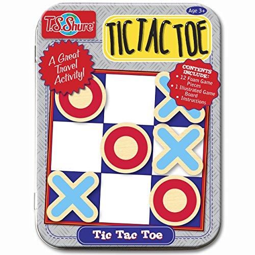 T.S. Shure Tic Tac Toe Mini Tin Magnetic Game