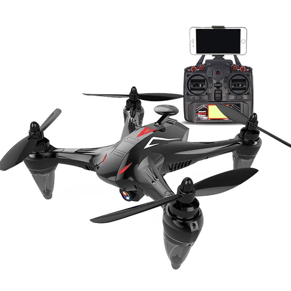 RaiFu GW198 ドローン GPS搭載 5G WIFI RCクアドコプター HDカメラ付き 安定性抜群 4軸 おもちゃ ギフトブラシレス 720P(レッド) B07GN66T1X
