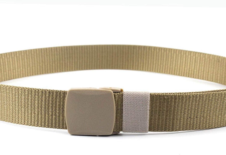 CoreLife Nylon Tactical Belt for Men Adjustable Casual Outdoor Heavy Duty Belt with Durable Plastic Buckle