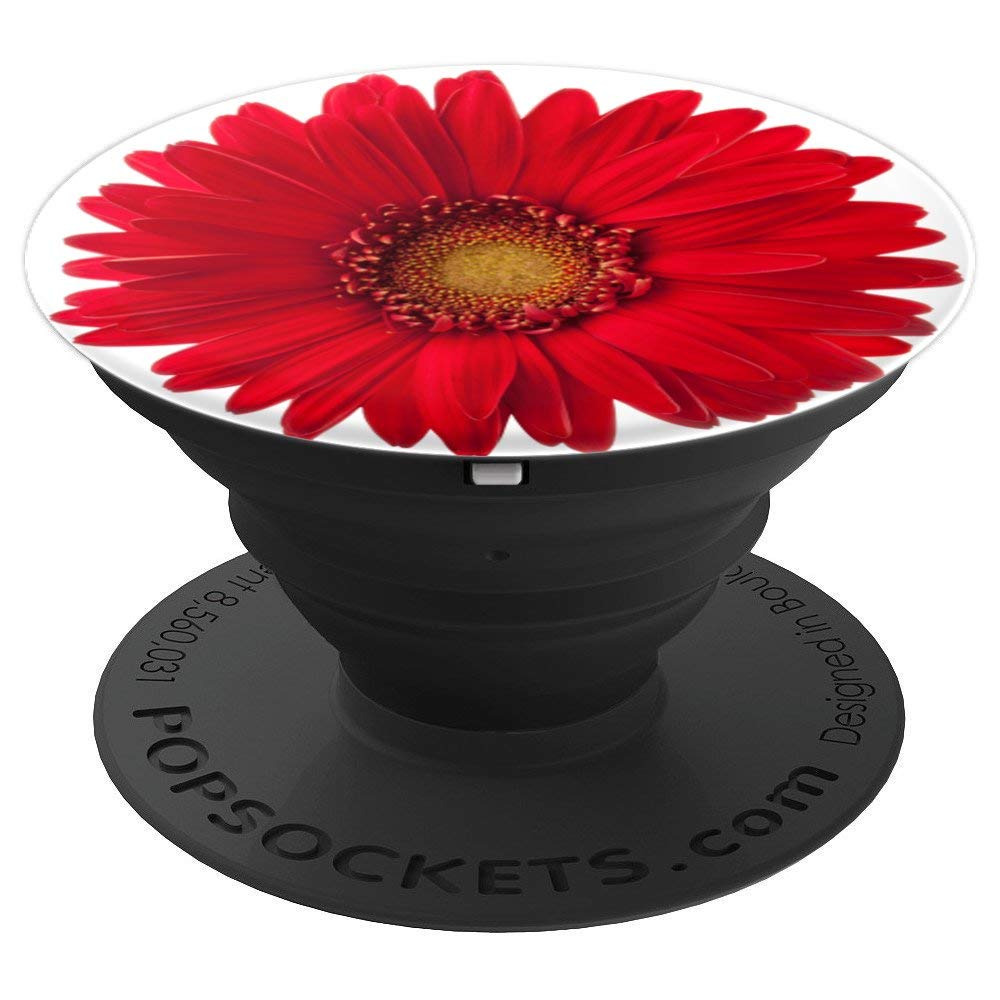Amazon cute red daisy flower on a white popsocket popsockets amazon cute red daisy flower on a white popsocket popsockets grip and stand for phones and tablets cell phones accessories izmirmasajfo